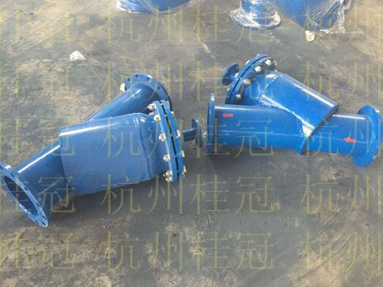 冷凝器在线清洗装置收球器