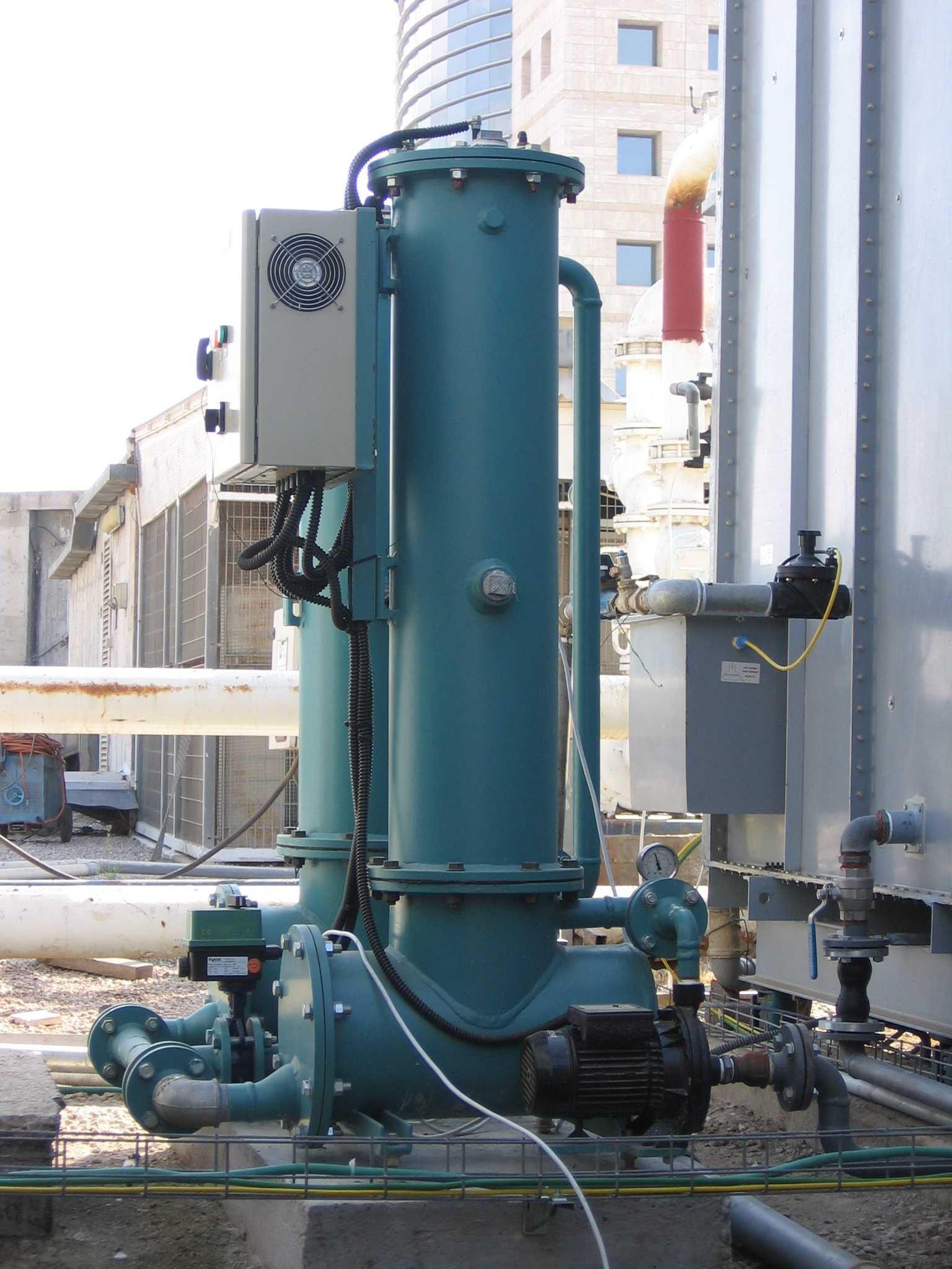冷却塔电过滤器